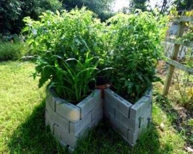 Keyhole Garden Beds - Comment faire un jardin Keyhole - fr ...